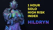 Warframe 1 Hour Solo High Risk Index Hildryn (John Prodman) 2020