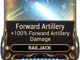Forward Artillery