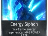 Energy Siphon