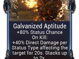 Galvanized Aptitude