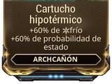 Cartucho hipotérmico