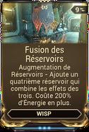 Fusion des Réservoirs