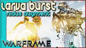 Warframe - LARVA BURST AUGMENT - Suck Blow