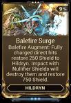 Balefire Surge