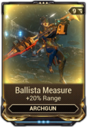Ballista Measure