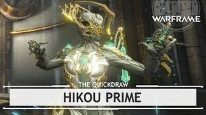 Warframe Hikou Prime, Hitting It Hard & Fast thequickdraw
