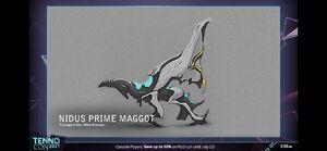 Nidus Prime Maggot