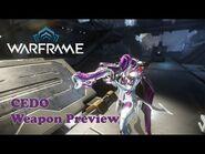 Warframe Cedo Weapon Preview - 2 Forma