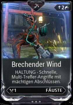 Brechender Wind