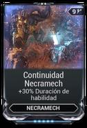 Continuidad Necramech