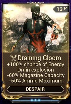 Draining Gloom
