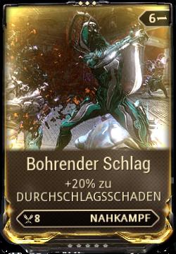Bohrender Schlag