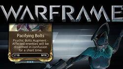 Pacifying Bolts 15.2