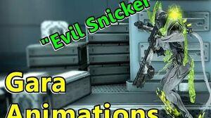 All Gara Warframe Idle Animations! (Warframe)