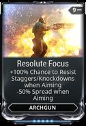 Resolute Focus