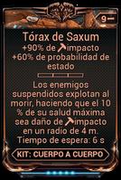 Tórax de Saxum
