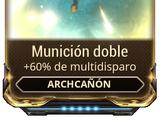 Munición doble