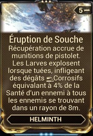 Éruption de Souche