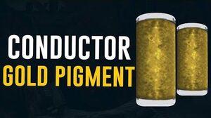 Conductor Gold Pigment Farm Dojo Colors (Warframe)