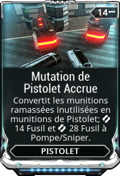 Mutation de Pistolet Accrue