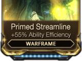 Primed Streamline