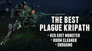 Warframe THE BEST PLAGUE KRIPATH POLEARM OF DESTRUCTION!