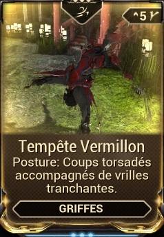 Tempête Vermillon