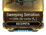 Sweeping Serration