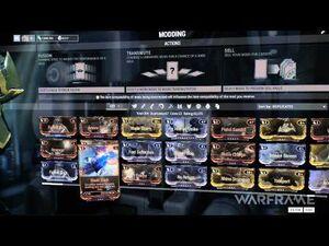 Warframe Tutorial - Mods