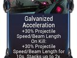 Galvanized Acceleration