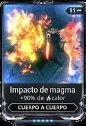 Impacto de magma