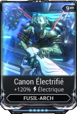 Canon Électrifié