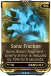 Sonic Fracture