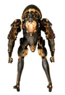 Bonewidow necramech back view transparent background