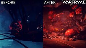 Warframe - Helminth Room - Before & After Heart of Deimos