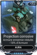 Projection Corrosive
