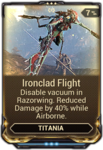 Ironclad Flight