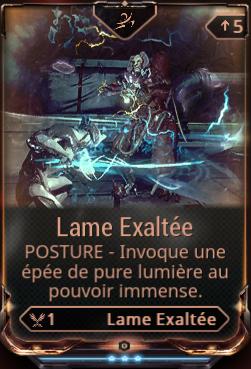 Lame Exaltée (Posture)