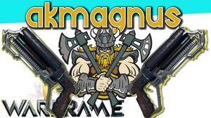 AKMAGNUS - The Viking of Pistols 3 forma - Warframe