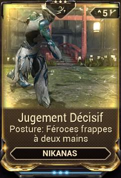 Jugement Décisif