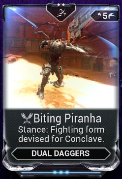 Biting Piranha