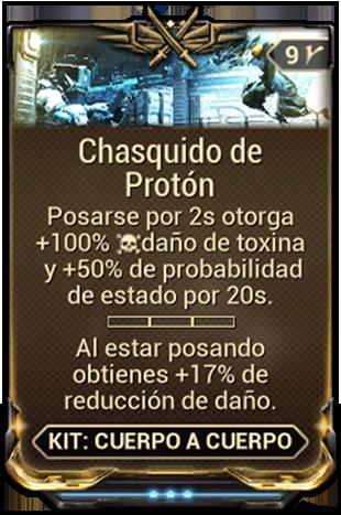 Chasquido de Protón
