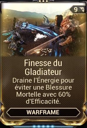 Finesse du Gladiateur