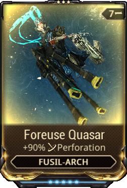 Foreuse Quasar