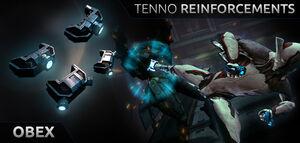 Tenno Reinforcements Obex