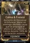 Calma & Frenesí
