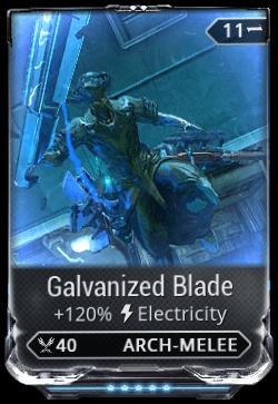 Galvanized Blade