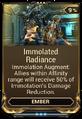 Immolated Radiance