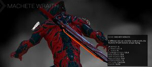 Machete Wraith codex