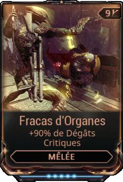 Fracas d'Organes